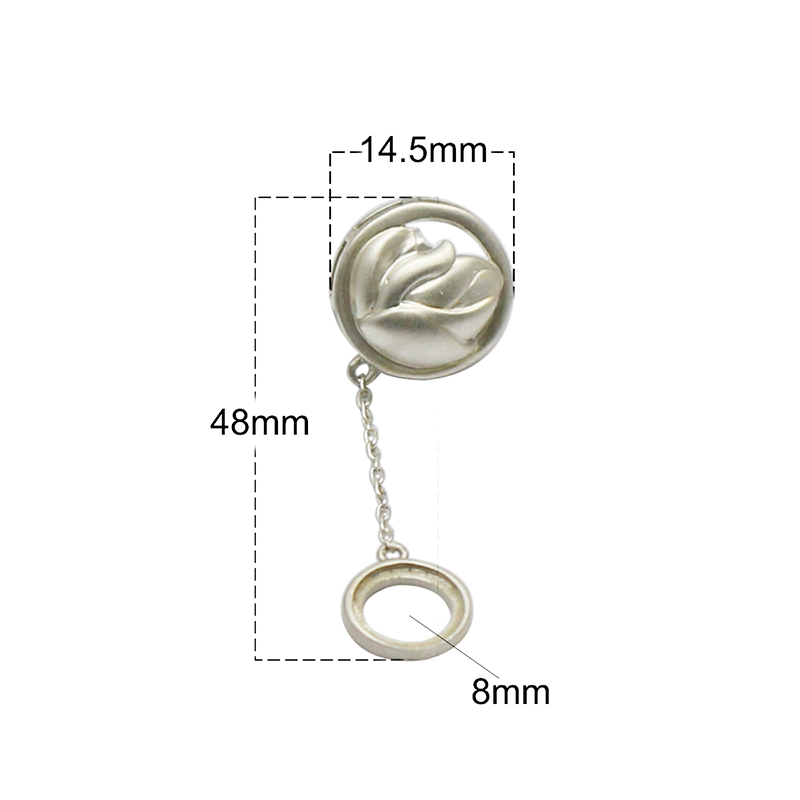 Beadsnice 925 argent Sterling Stud boucle d'oreille bijoux plateau pour boucle d'oreille cadeau pour elle ID37130 - 4
