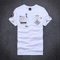 2016 novo air force one O-Neck t camisa homens marca aeronautica militare camiseta t-shirt de algodão roupas Militares