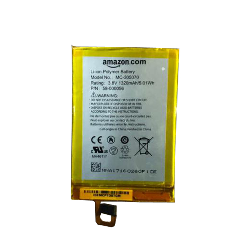 US $18 5 |1320mah MC 305070 battery for AMAZON Kindle Voyage NM460GZ 58  000056 MC 305070 S13 R2 S13 R2 A batteries-in Digital Batteries from  Consumer