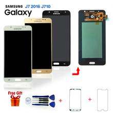 Orignal Super Amoled LCD For Samsung Galaxy J7 2016 J710 J710F LCD Display Touch Digitizer Screen