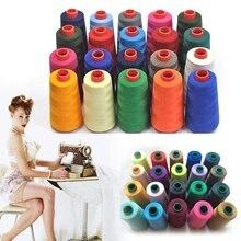 17 цветов, 3000 ярдов, швейные нитки из полиэстера, швейные нитки, Швейные аксессуары, аксессуары для швейной машины, промышленные