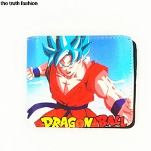 Dragon Ball Super comic wallets japanese totoro chopper Attack on Titan men's wallet portfel cion dollar price