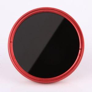 Image 4 - FOTGA 58 مللي متر ND مرشحات كاميرا سليم Fader ND(W) حلقة حمراء تصفية متغير قابل للتعديل ND2 ND8 إلى ND400