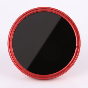 Image 4 - FOTGA 58mm ND Filters Camera Slim Fader ND(W) Red Ring Filter Variable Adjustable ND2 ND8 to ND400