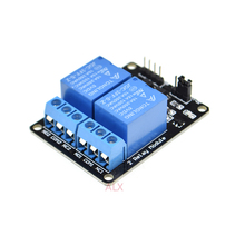 5V 2 TWO Channel Relay Module Low Level 5VDC 2 road relay mo