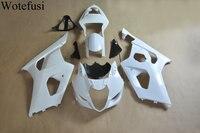 Wotefusi ABS Injection Mold Unpainted Bodywork Fairing For Suzuki GSXR 1000 K3 2003 2004 [CK1066]