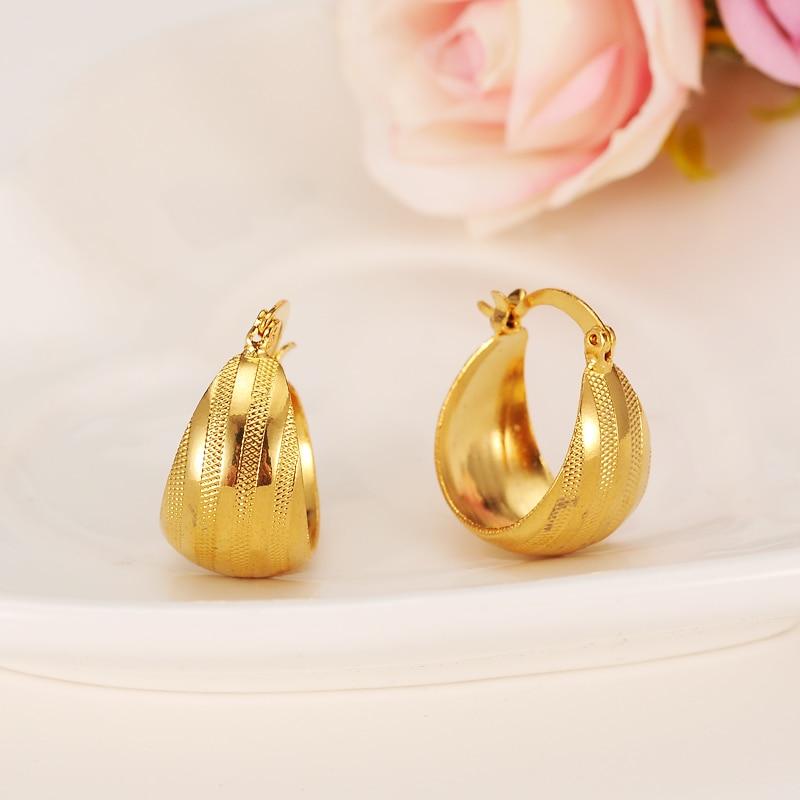 Bangrui Good Luck Gold Earring Women/Girl,Gold Color Number ...