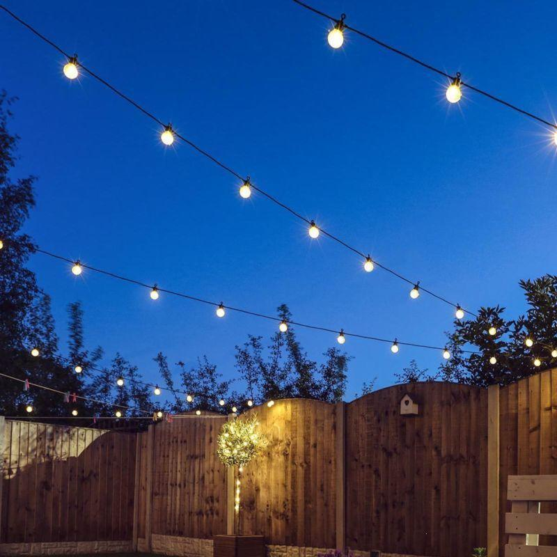 Vintage Bulbs String Light Wedding String Fairy Light Christmas LED Globe Festoon Bulb Fairy String Lamp Outdoor Party Garden Z3 20pcs bulb string light