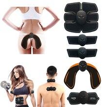 Abdominale Cervicale Électronique EMS Musculaire Exerciseur Corps Minceur  Shaper Puissance entraîneur de muscles Hanche Vibrant appareil d8496e1a239