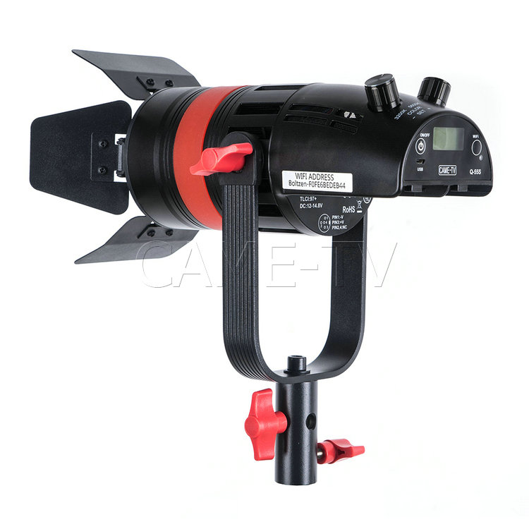 Image 3 - 1 Pc CAME TV Q 55S Boltzen 55w High Output Fresnel Focusable LED Bi Color With Bag-in Photo Studio Accessories from Consumer Electronics
