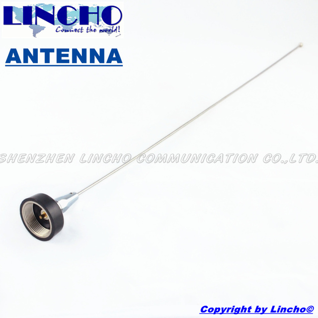 Частота УКВ 136-174 МГц венчик из нержавеющей стали автомобиль радио антенны nmo, nmo мужской антенны