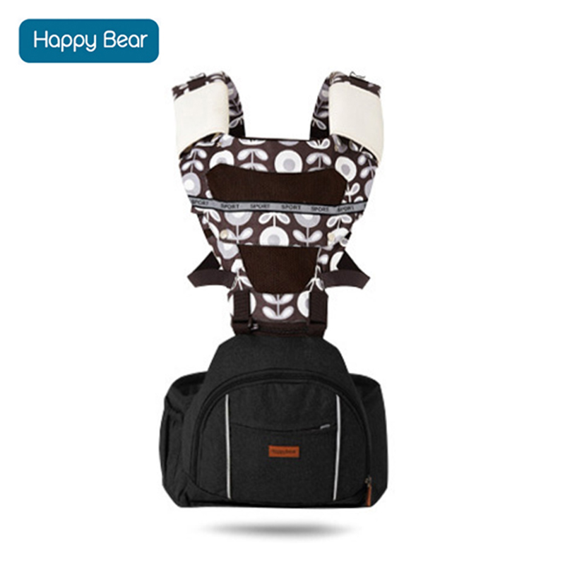 HappyBear Breathable Baby Carrier High Capacity Infant Comfortable Sling Backpack Pouch Wrap Baby Kangaroo New For 0-30Months 2016 hot portable baby carrier re hold infant backpack kangaroo toddler sling mochila portabebe baby suspenders for newborn