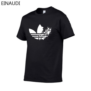 LOGO Print Fashion Brand Clothing T-shirt 1