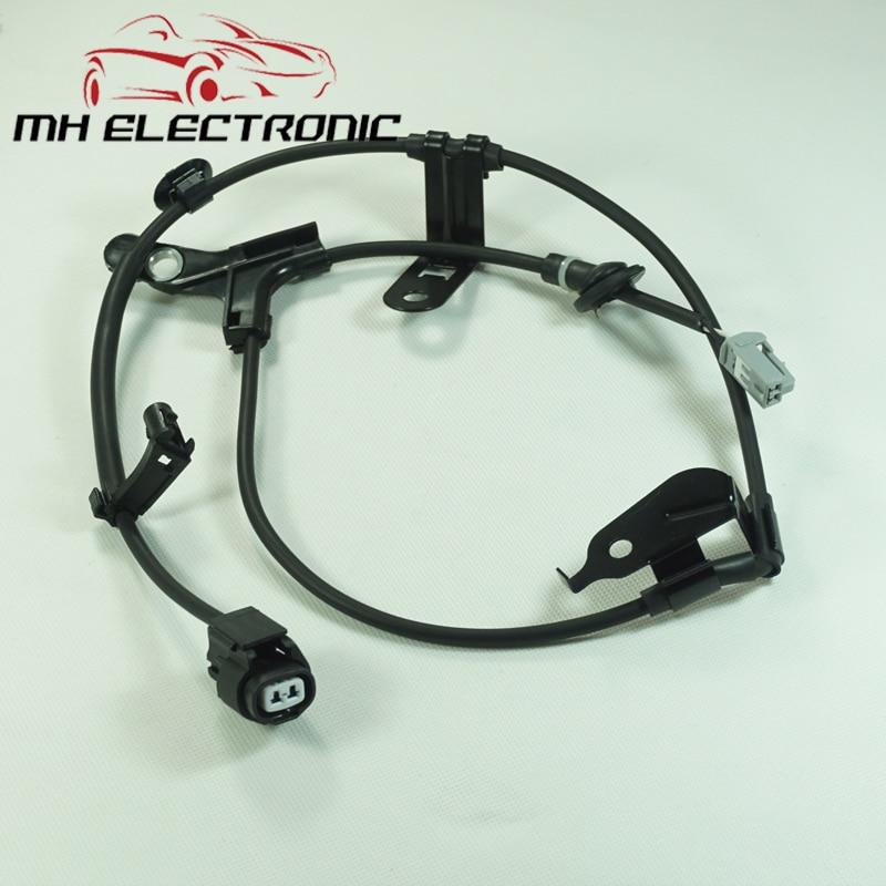 Mh abs eletrônico sensor de velocidade da roda chicote de fios esquerda reat 89516-12020 para toyota corolla matriz 2001-2006 garantia!!! Novo!!!!