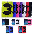 free screen protector +Tablets & e-Books Case Military Anit-Dust Shockproof Protective cover case for apple ipad mini 1 2 3