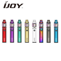 Original 100W IJOY Wand Kit Built in 2600mAh Battery & 5.5ml Diamond Subohm Tank & Personalized Pentagonal Fire Button Vape Kit