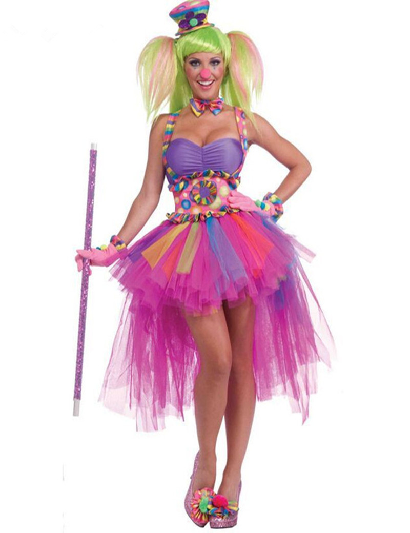 Aliexpress.com : Buy Sexy Circus Outfit Women Tutu Cirque Clown ...