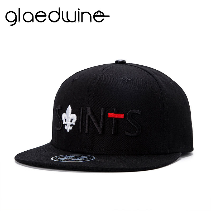 Glaedwine 2017 Bone Hip Hop Snapback Hats Black Bone Masculino Caps Baseball cap Hat High Quality Cotton Material dad hat gorras