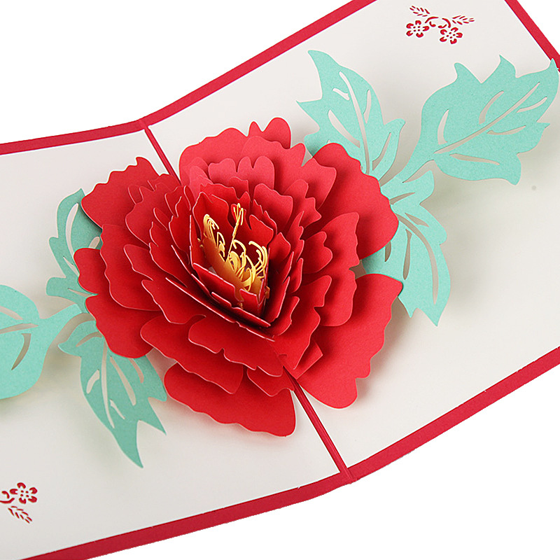 100pcs 3d stereoscopic greeting cards peony flowers mothers day 100pcs 3d stereoscopic greeting cards peony flowers mothers day handmade thanksgiving card wedding supplies wa1015 in cards invitations from home thecheapjerseys Gallery