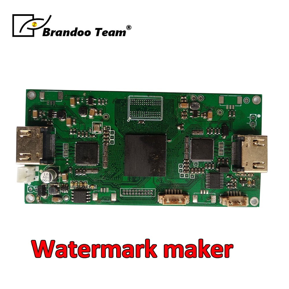 BRANDOO Watermark Maker,Stamp Adder Designed For All Video Products ,OSD/Words/Pictures Customize,Factory Direct