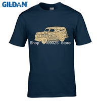 GILDAN Funny T Shirt JUNGLE ZONE Plus Size T Shirt O Neck Personality Classic Cars T