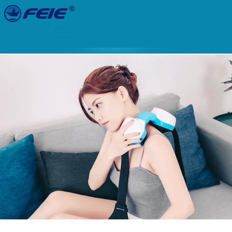 Intelligent Electric Back Neck Shoulder Full Body Cervical Vertebra Massager for Health Care Relaxation Free Ship 2019 Newest