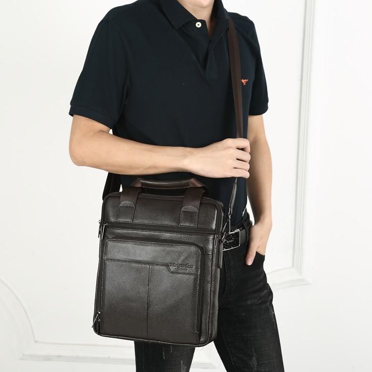 HTB16YDJCXuWBuNjSszbq6AS7FXa8 MEIGARDASS Genuine Leather Business Briefcase Men Travel Shoulder Messenger Bags Male Document Handbags Laptop Computer Bag