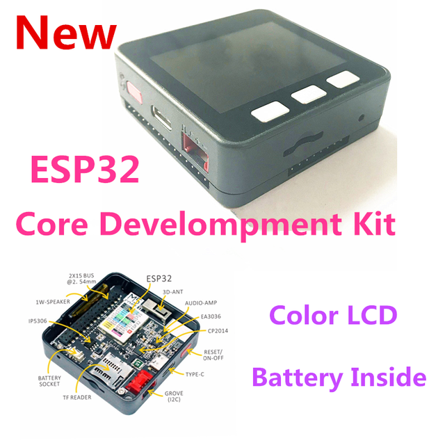US $35 0 |NEW!!ESP32 Basic Core Development Kit Extensible Micro Control  Wifi BLE IoT Prototype Board for Arduino-in Home Automation Kits from