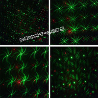 Mini Projector Red Green DJ Disco Light Stage Xmas Party Laser Lighting Show With Tripod