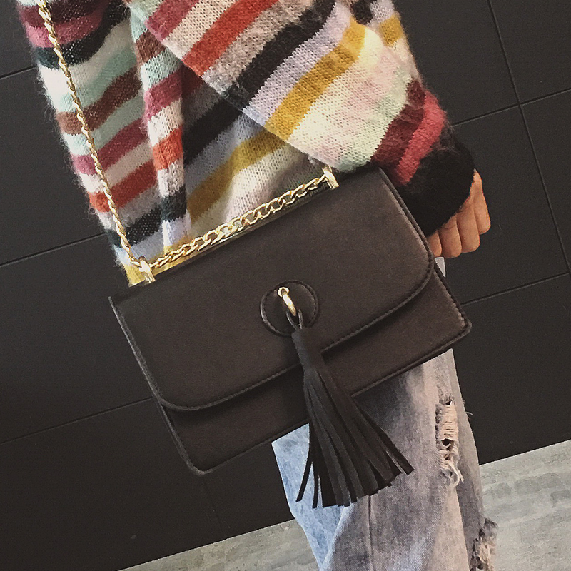 New Style Tassels famous brand Retro Minimalist Crossbody Bag mini Women Shoulder Bag Women Messenger Bag
