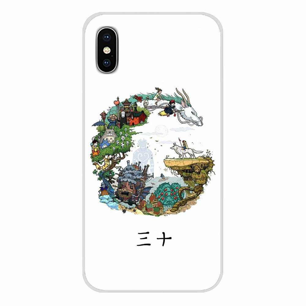 Аниме Chihiro Тоторо аксессуары чехлы для телефонов Xiaomi Mi6 A1 5X 6X Redmi Note 5 5A 4X 4A 4 3 Plus Pro pocophone F1