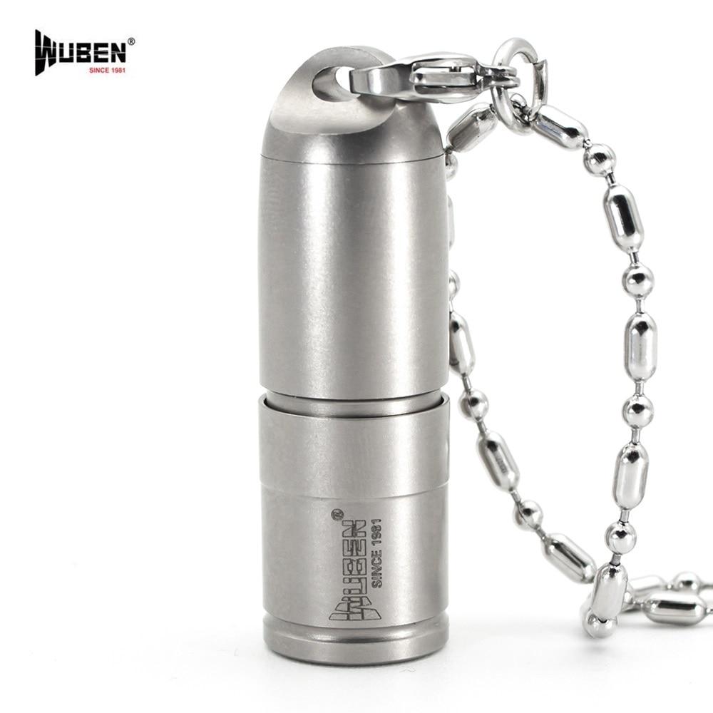 WUBEN G338 CREE XP-G2 LED Mini flashlight 130 lumens sofirn sf14 cree xp g2 mini portable led flashlight
