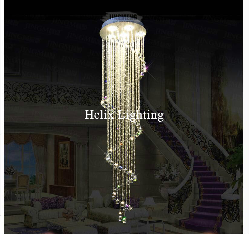 Free Shipping LED K9 Clear Crystal Pendant Lamps Lights Hanging Lighting Fixtures with For Indoor Home Deco AC 100% Guaranteed dimmable pendant lights led crystal lighting hanging lamps indoor home light with remote control for hallway indoor home deco
