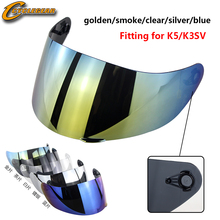 High Quality Helmet Visor Fit For K5 K3SV K1 Motorcycle Full Face Casco Accessories Part Motorbike Shield lens