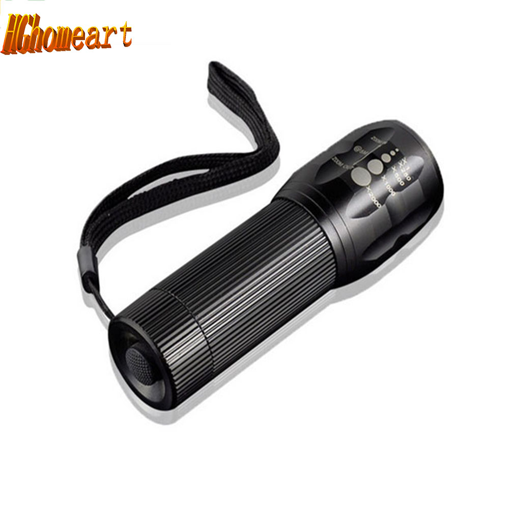mini LED Flashlight High quality black light Torch light 2000lm Strong Lumens Zoomable Penlight Lanterna professional led flashlight cree q5 strong lumens black zoomable led torch lantern 3 models lanterna led penlight free shipping