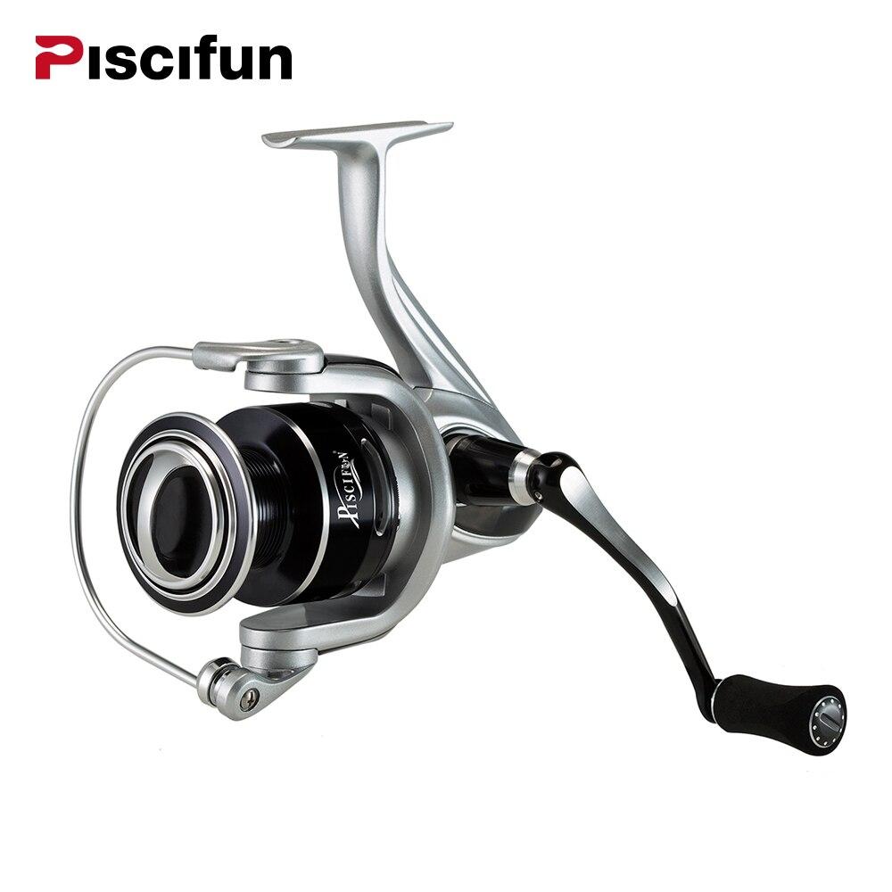 Piscifun Destroyer MX Série Spinning moulinet de pêche 7 + 1BB Super Lisse Carbone fibre Glisser Tourner les Rouleaux