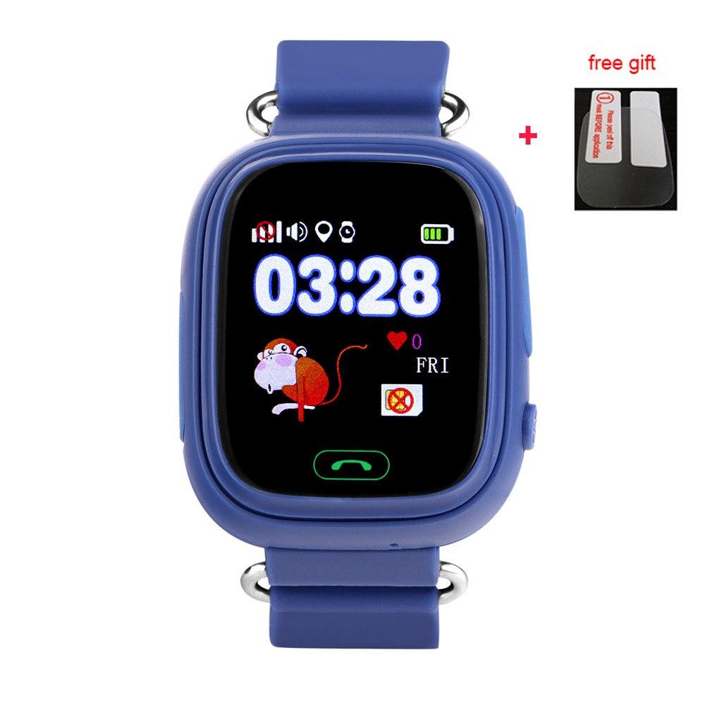 968bf5dcc0a Enviar a partir de Rússia Q90 WI FI Inteligente Relógio bebê criança  Dispositivo Localizador GPS relógio Rastreador para Crianças Monitor Anti  Perdido PK ...