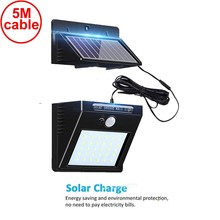 30 led solar light outdoors stage lamp llampara colgante wall street for home lampshade living room lampy sufitowe 5M wire ip65