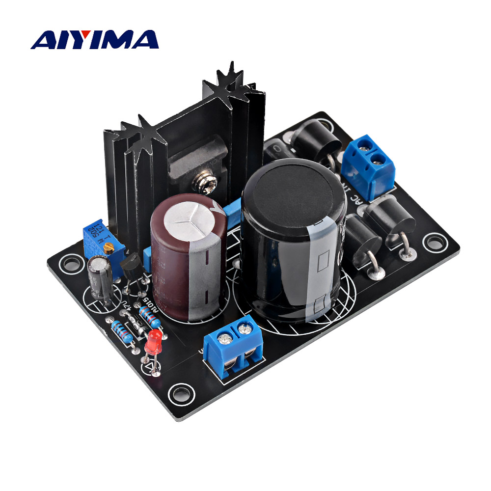 AIYIMA IT1083 Power Supply 0-34VAC LT1083CP LT1083 Power Adjustable Power Supply Board Linear Power For HIFI Amplifier
