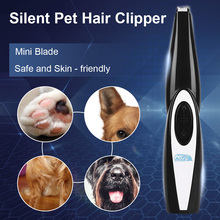 Rechargeable Low-noise Pet Hair Clipper Remover Cutter Grooming Cat Dog Hair Trimmer Electrical Pets Hair Cut Machine стоимость