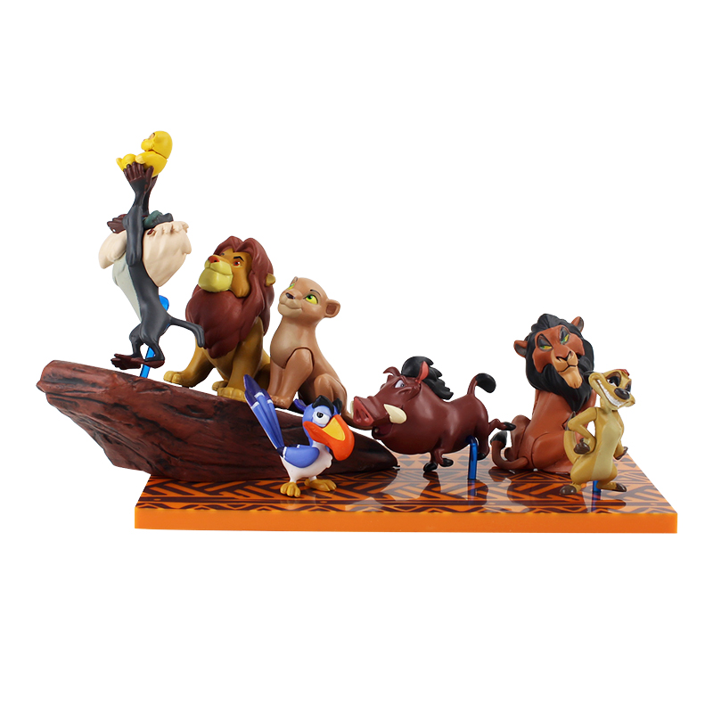 Image 3 - Cartoon The Lion Guard King Kion Simba PVC Action Figures Bunga Beshte Fuli Ono Figurines Doll Kids Toys for Children Boys-in Action & Toy Figures from Toys & Hobbies
