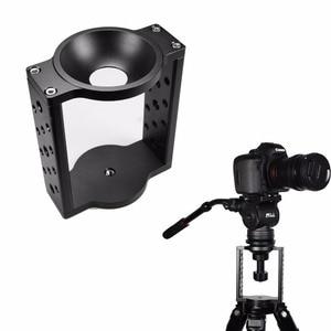 Image 4 - 65mm/75mm/100mm Aluminium Half Ball Flat to Bowl Adapter Converter Riser for Manfrotto Video Tripod Fluid Head DSLR Rail Slider