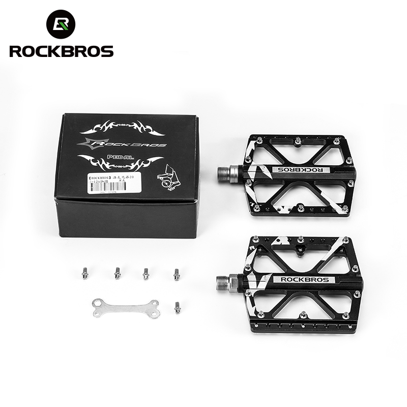 ROCKBROS 3 Bearings Cycling Bicycle Pedal Ultralight Durable BMX Bike Pedal For MTB Mountain BMX Bikes Bicycle Parts BromptonROCKBROS 3 Bearings Cycling Bicycle Pedal Ultralight Durable BMX Bike Pedal For MTB Mountain BMX Bikes Bicycle Parts Brompton