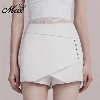 Max Spri 2019 Shorts New Women Sexy Asymmetry Chic Skirt Office Lady Daily Wholesale Hot Sale Summer Bottom