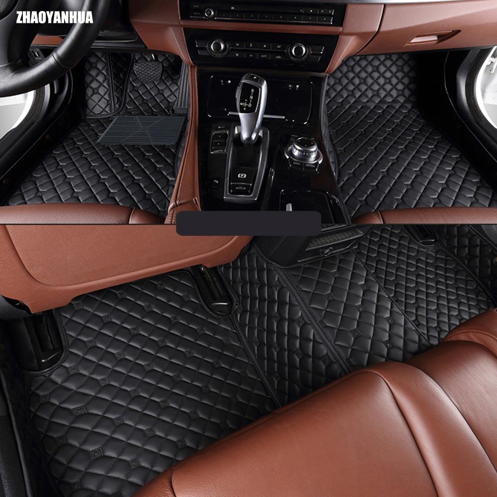 Zhaoyanhua car floor mats for bmw 1 series e81 e82 e87 e88 116i 118i 118d 120i