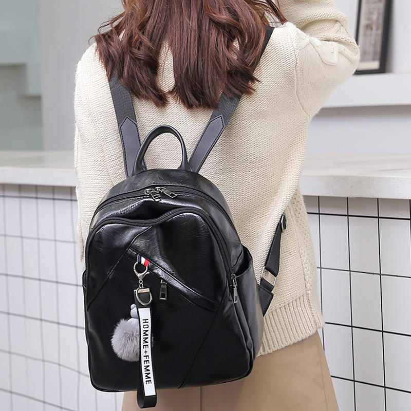 2019 Latest Girl Backpack Trend Design Mobile Phone Change Daily Necessities Female Bag Beautiful Personality Woman Backpack 2