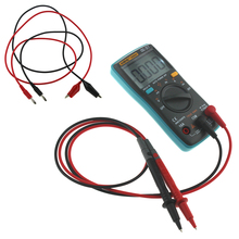 ANENG AN8001 Digital Multimeter 6000 Counts Backlight AC/DC Ammeter Voltmeter Ohm Portable Meter With 90cm cord Lead P50