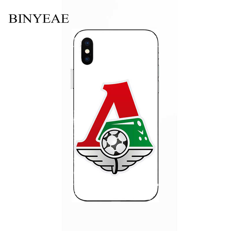 FC Lokomotiv Moscow Football Painting Case For Apple iPhone 4 4s 5 5C 5s SE 6 6s 7 8 Plus X XR XS 11 Pro Max Soft Printed Cover