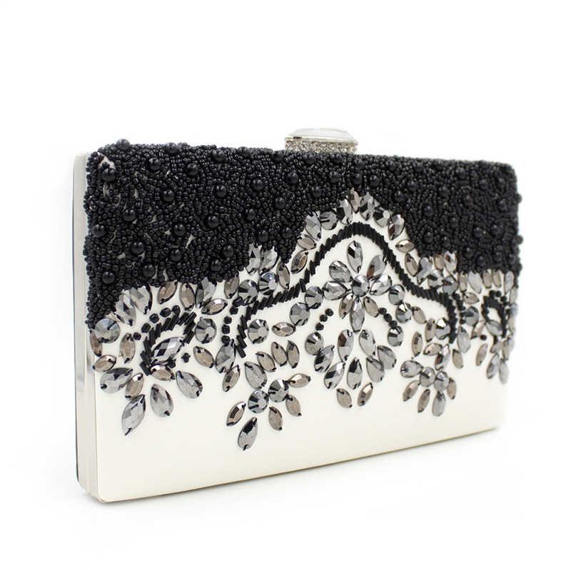 Новые женские бриллианты Роскошные вечерние сумки клатч через плечо с цепочкой сумки с акриловый кошелек женские вечерние сумочки