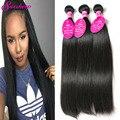 7A Brazilian Virgin Hair Straight 3 Bundles Deals Unprocessed Virgin Brazilian Straight Hair Weave Mink Remy Human Hair Bundles
